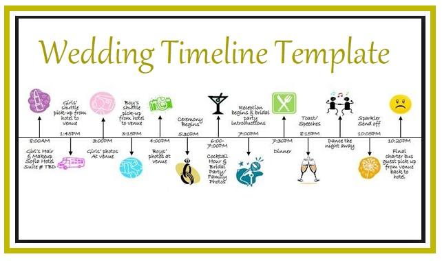 Wedding Timeline Templates 4+ Free Word, Excel  PDF