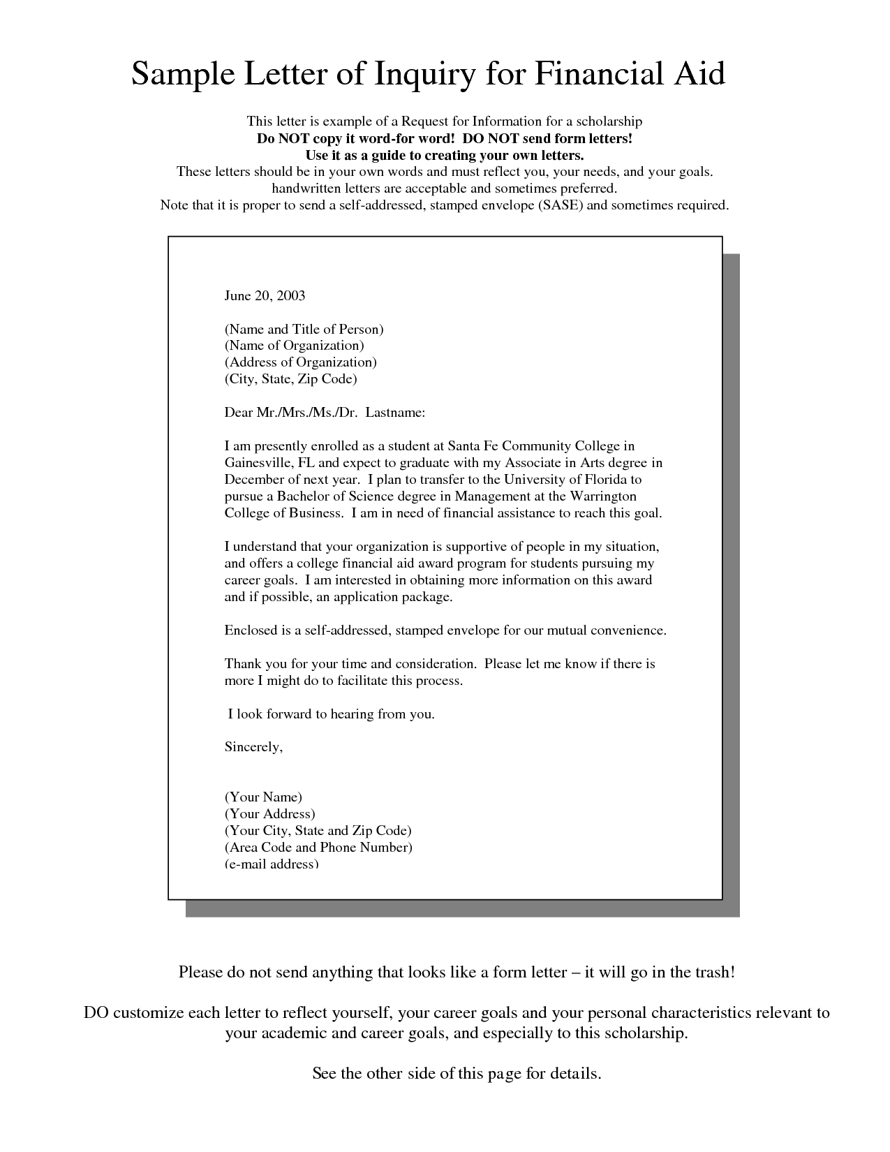 Request Letter For Training Assistance | Resume Pdf Download
