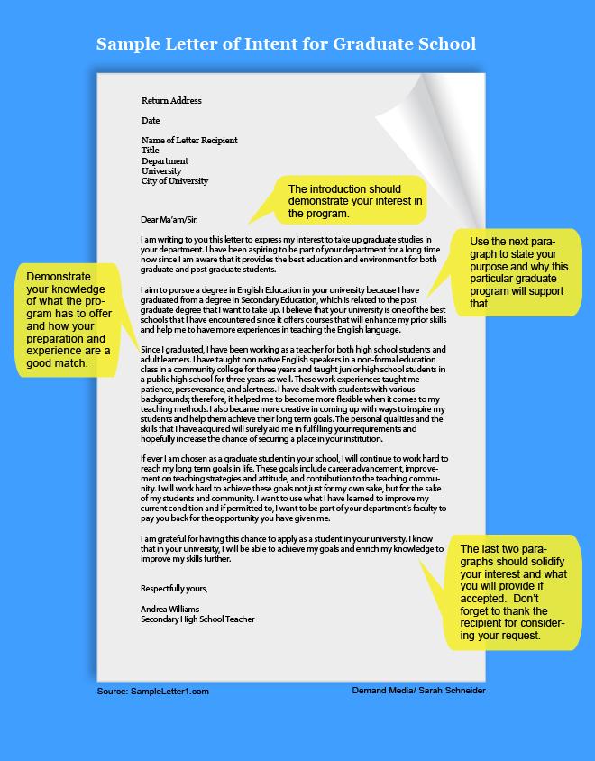 LETTER OF INTEREST FOR MEDICAL SCHOOL ~ Sample  Templates