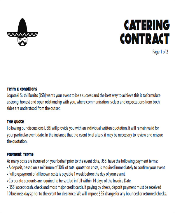 Catering-Contract-Proposal-Letter