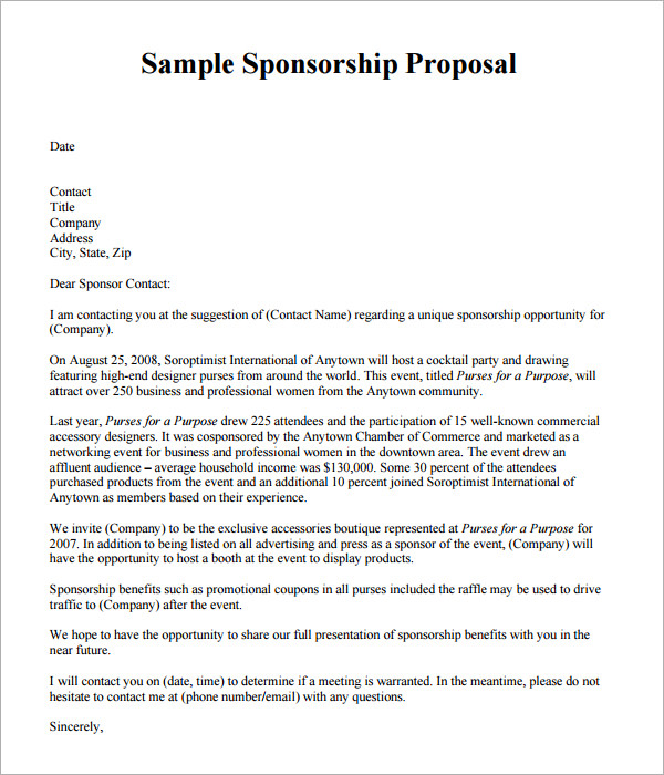 20 New Proposal Template Designs Samples And TemplatesEvent