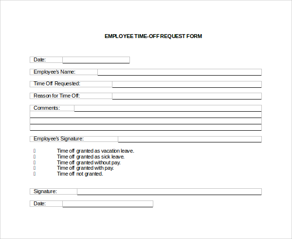 Vacation Request Form Free Form Stock Photos \ Pictures Royalty - time off request forms
