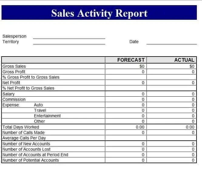 yearly sales report sample - Maggilocustdesign - sample sales report