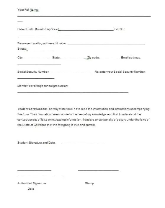 Verification Forms Template - Free Formats Excel Word - verification form