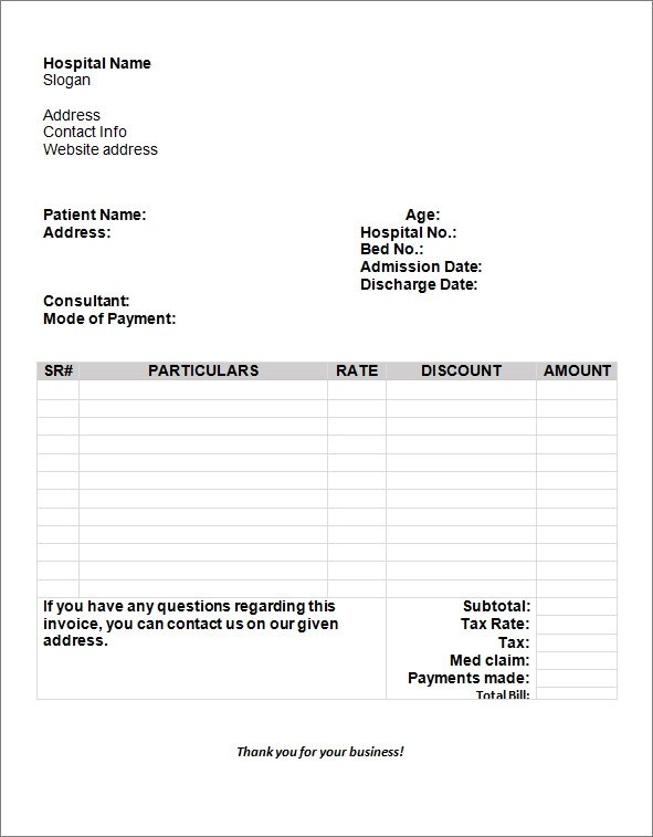 sample business invoice template - samples invoice