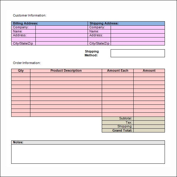 blank invoice template - copy of a blank invoice