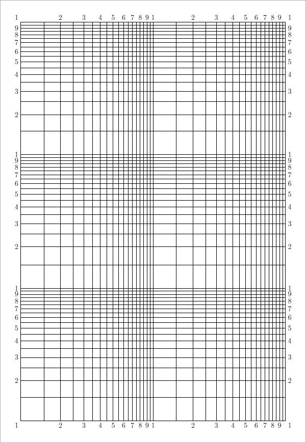 Logarithmic Graph Paper Template - #traffic-club