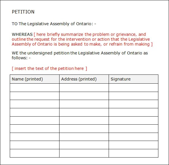 Petition Format Divorce Agreement Template Pdf Format Free