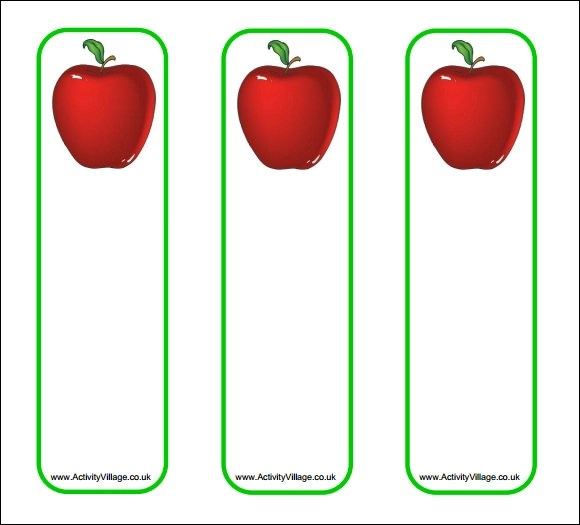 free bookmark template designs - blank bookmark template