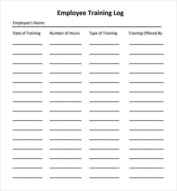 sample training record templates - sample employee manual template