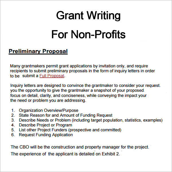 Grant Proposal Examples Samples  Resume Sample For Student Assistant