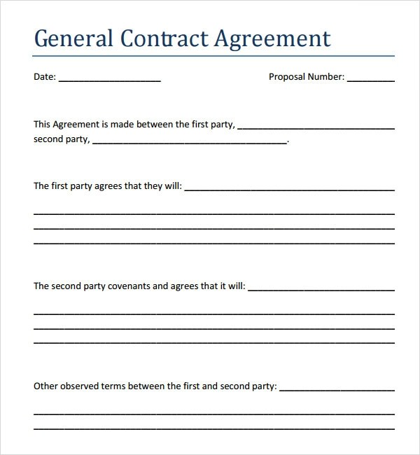contract agreement template