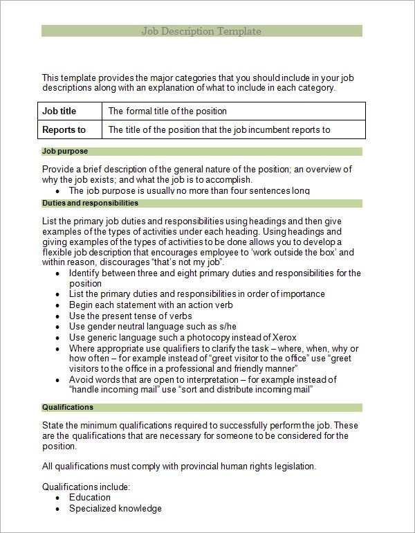 workload analysis template