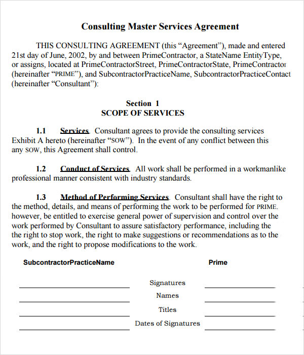 master-service-agreement-template-consultingjpg - service form in word