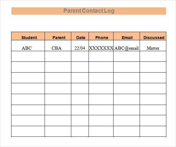 client call log sheet template - phone sheet template