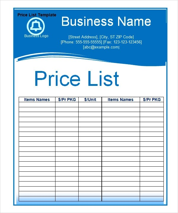 Phone List Template Word Contact List Template 100 Free Word Excel