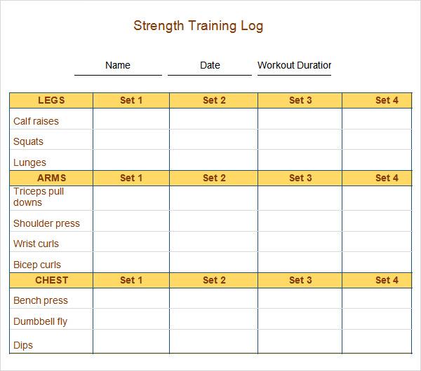 weekly work log template - log template