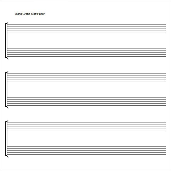 staff paper for trios amazoncom staff paper piano treble clef and