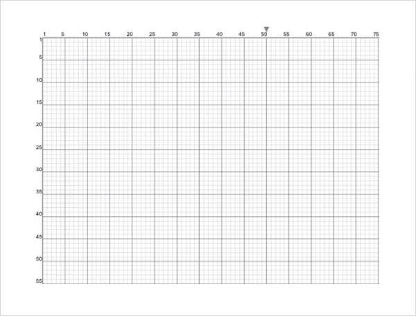 excel graph paper template - Graph Paper Template
