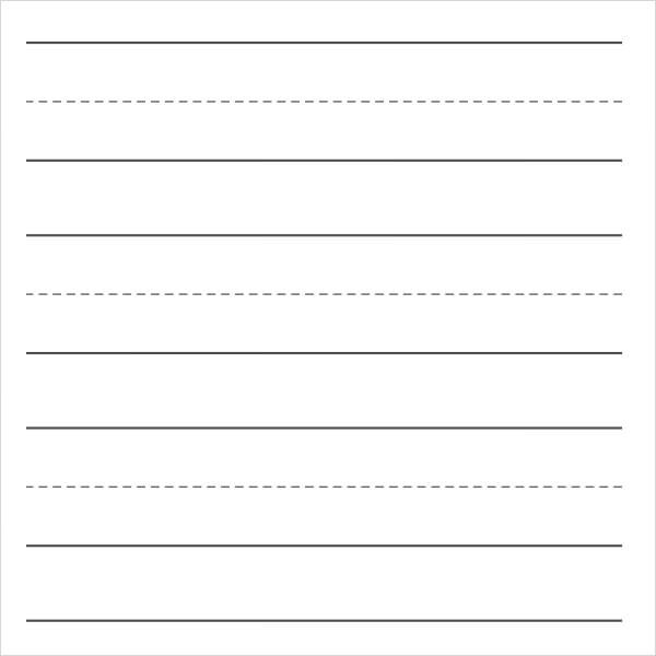 lined paper template word download