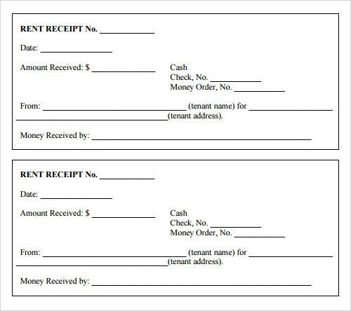 printable receipts templates blank receipt blank receipt template - check receipt template word