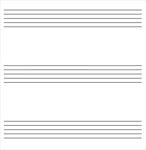 musical staff paper to print - Akbagreenw