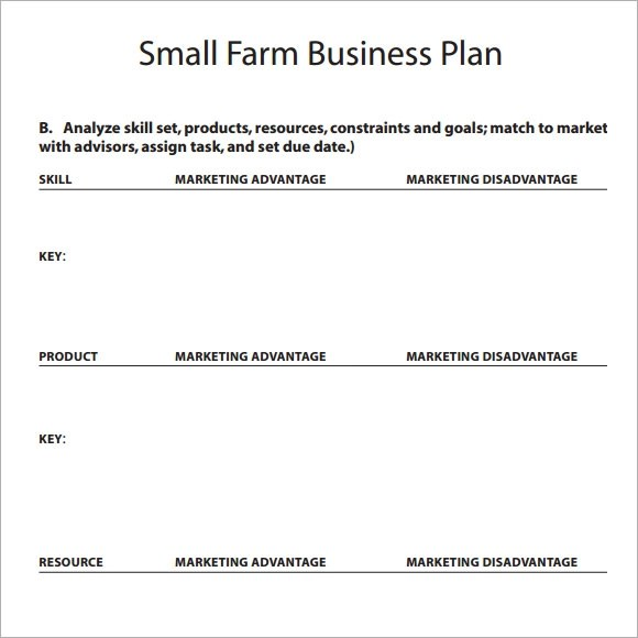 business plan template free download1 - business strategy template word