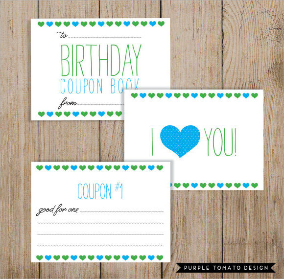 blank birthday coupon template - coupon templates for word
