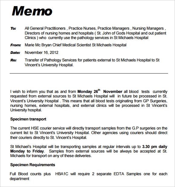 Nice Professional Memo Format Template Photos - Example Resume Ideas - Professional Memo Template