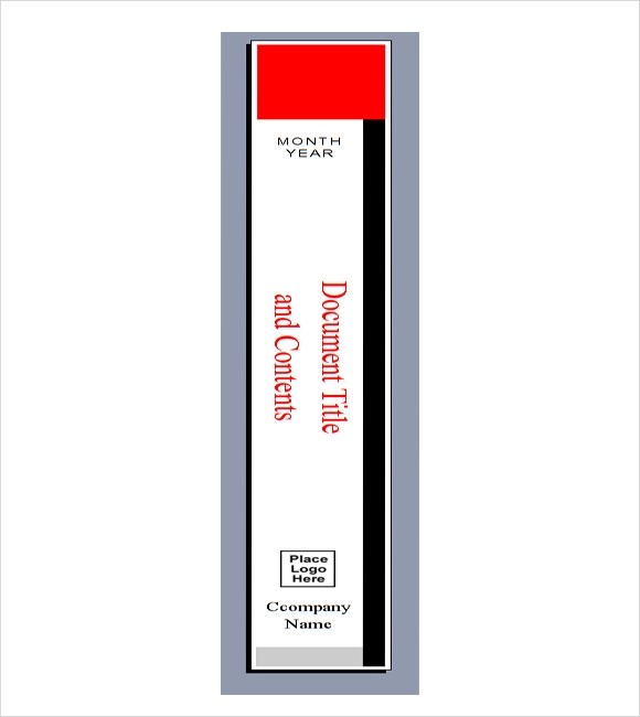 Binder Spine Templates Ophion
