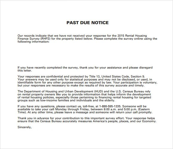 late rent payment letter template
