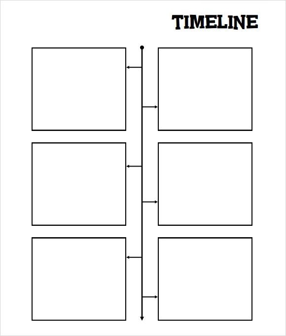blank timeline template - timeline sample in word