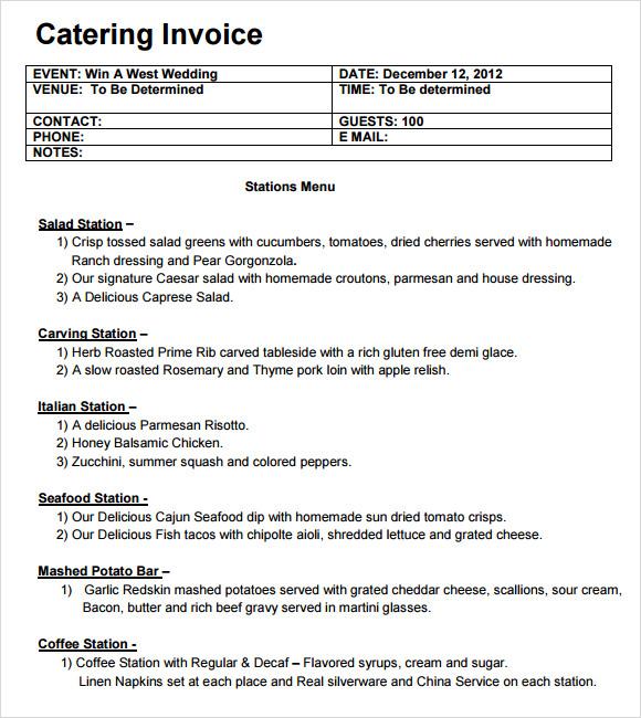 Proforma Invoice Sample Word   Job Application Letter In Doc Format