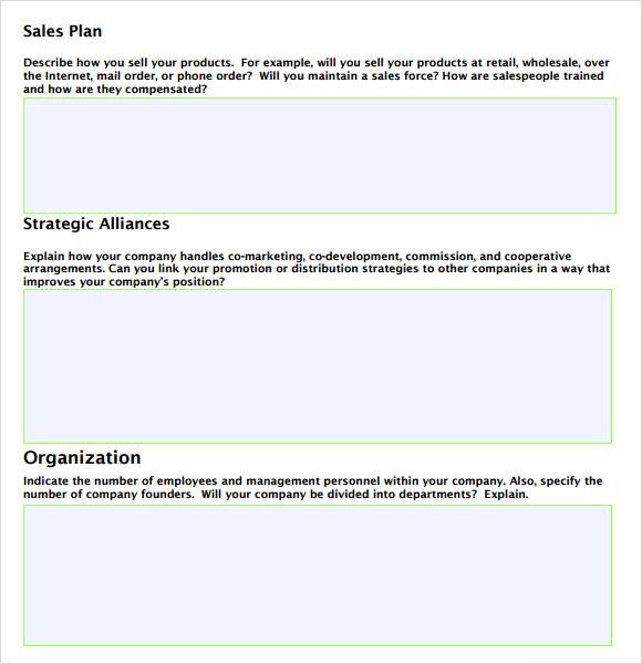 Sales Business Plan Template 10 Free Word Excel PDF Format Business - sales plan pdf