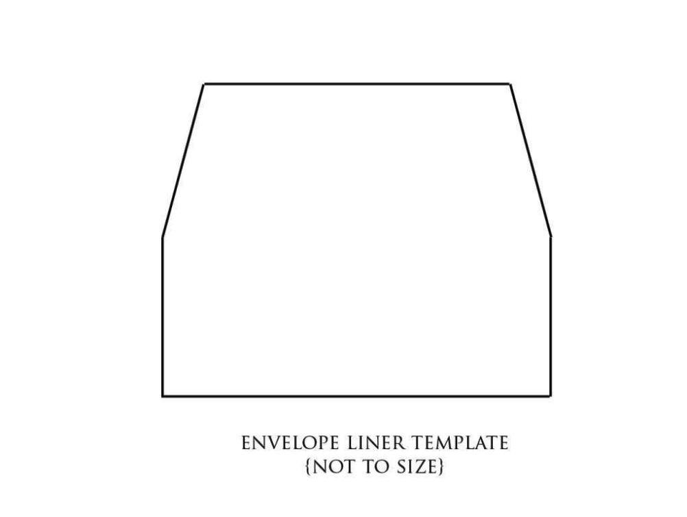 A7 Envelope Liner Template - SampleTemplatess - SampleTemplatess