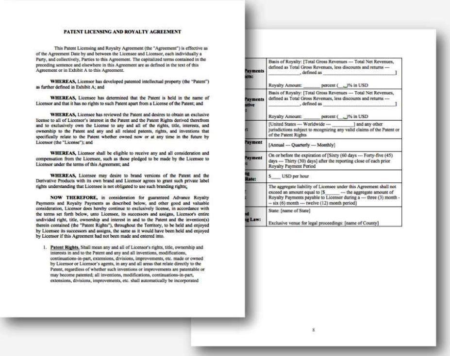License Agreement Template Ivoiregion