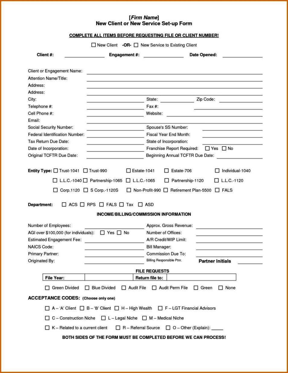 acceptance form sample