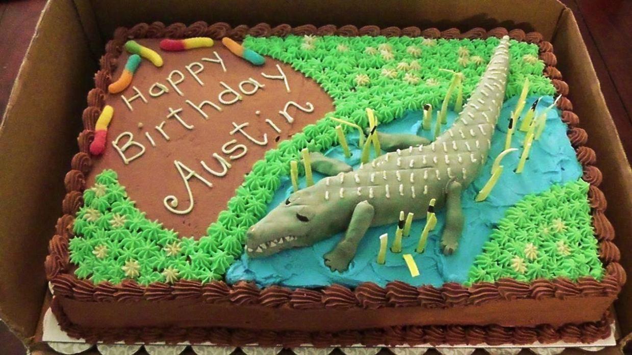 Crocodile Cake Template Erieairfair