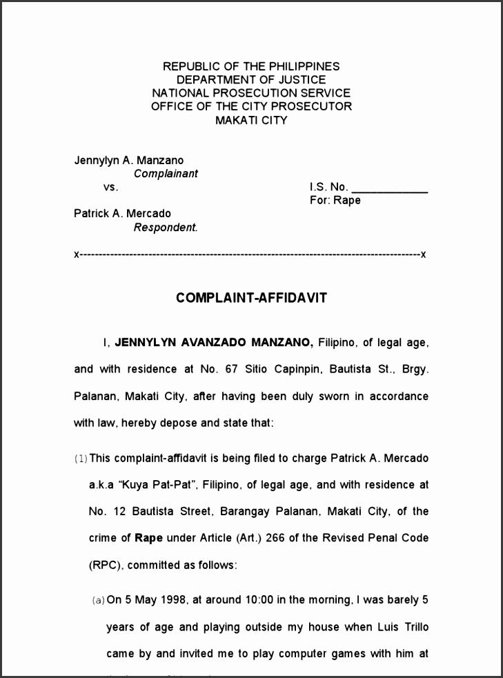5+ Affidavit form Sample - SampleTemplatess - SampleTemplatess - Affidavit Formats