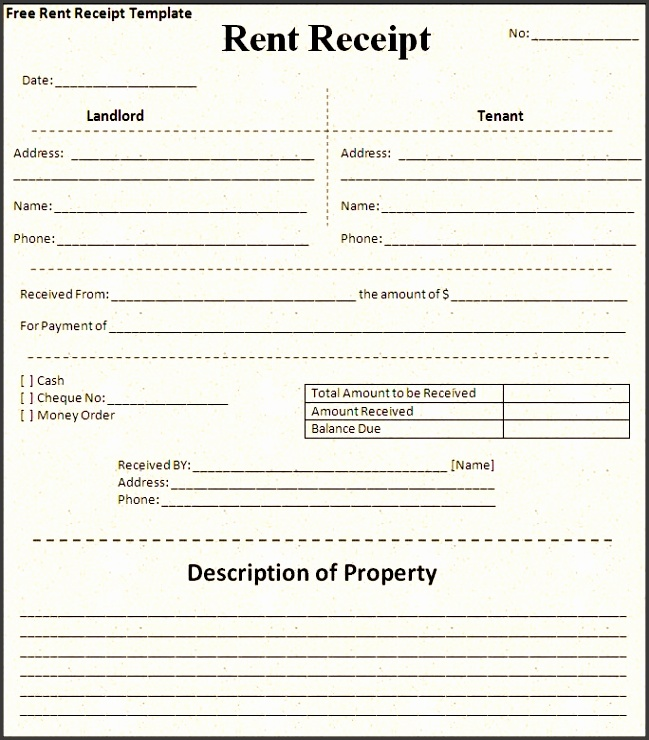 11 Apartment Rent Receipt Template - SampleTemplatess - SampleTemplatess - apartment rent receipt