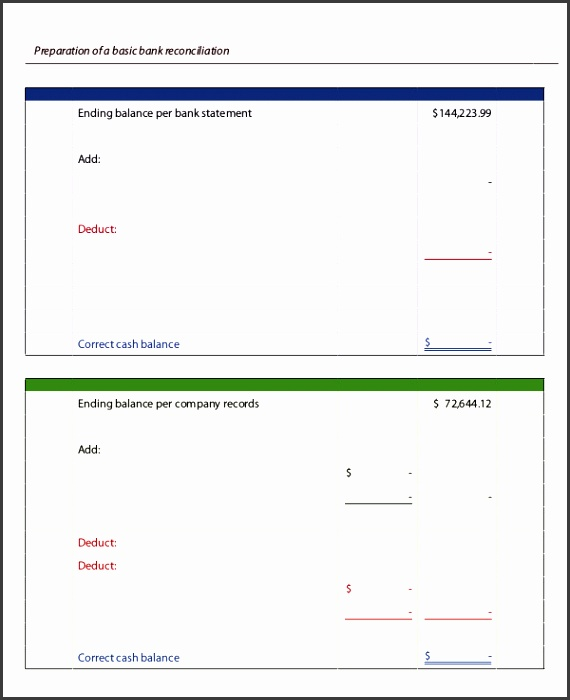 Blank Bank Statement Template awesome bank statement template