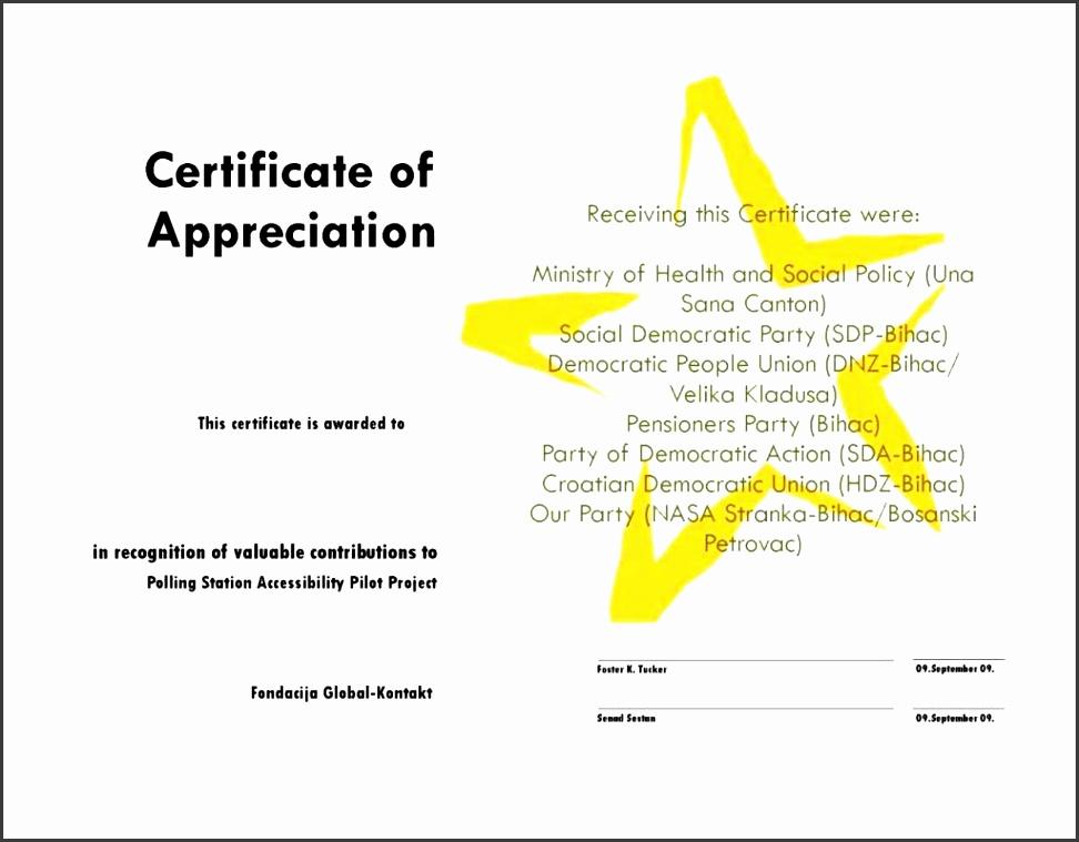 Certificate of Appreciation Wording AllWordingcom - mandegarinfo
