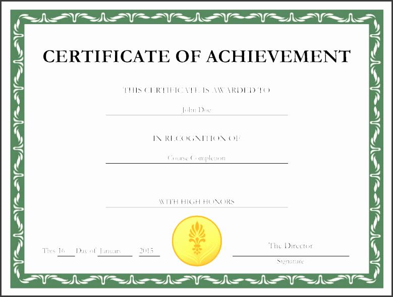 certificate template maker