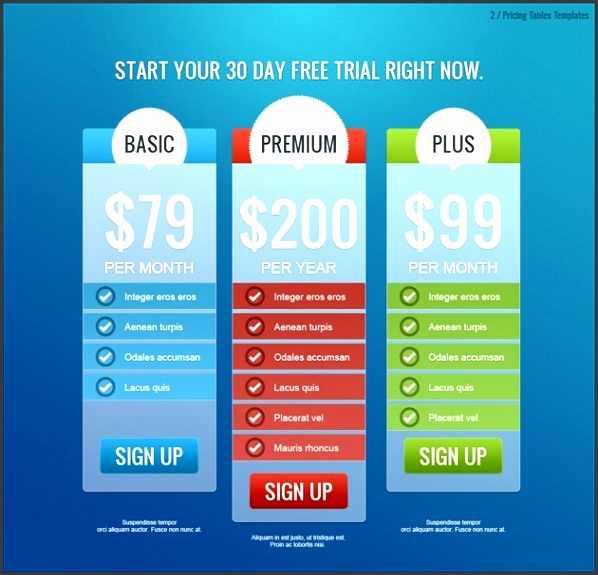 9 Commercial Price List Template - SampleTemplatess - SampleTemplatess - price list design template