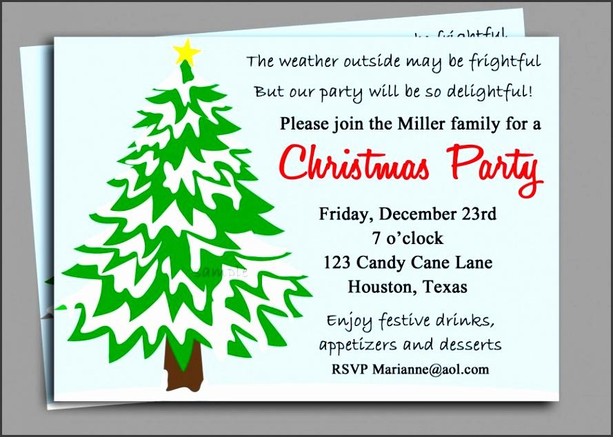 company holiday party invitation wording