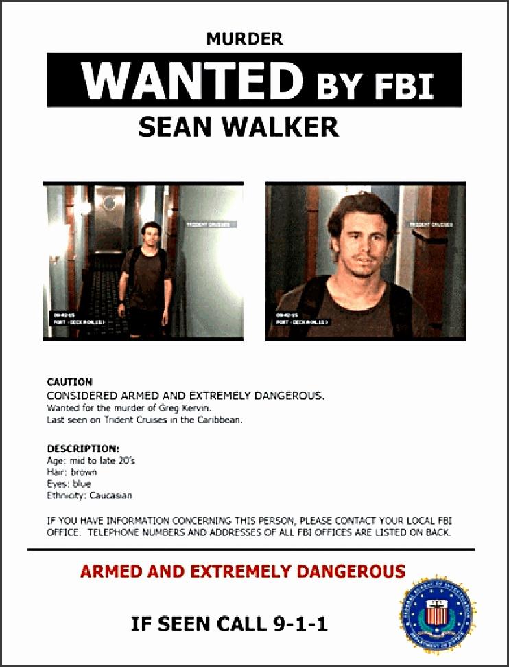 Criminal Wanted Poster kicksneakers - criminal wanted poster