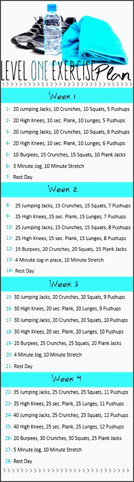 Nice Weekly Exercise Plans Collection - Best Resume Examples by - weekly exercise plans