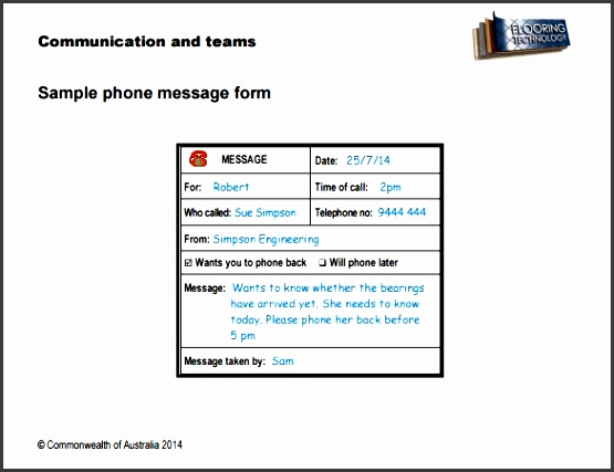 4+ Easy to Use Telephone Message Template - SampleTemplatess