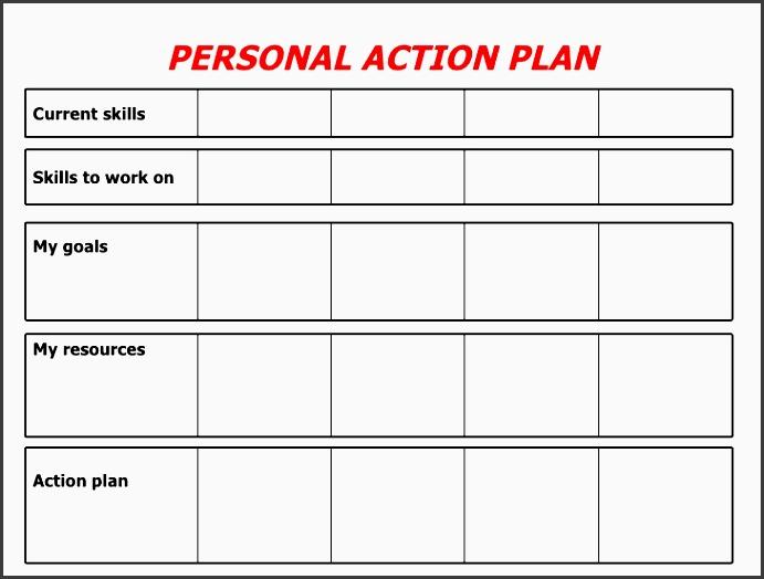 9 forma Action Plan Template - SampleTemplatess - SampleTemplatess - personal development action plan template