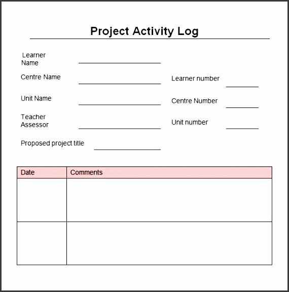 Time Log Templates Template Time Log Sheet Template Download